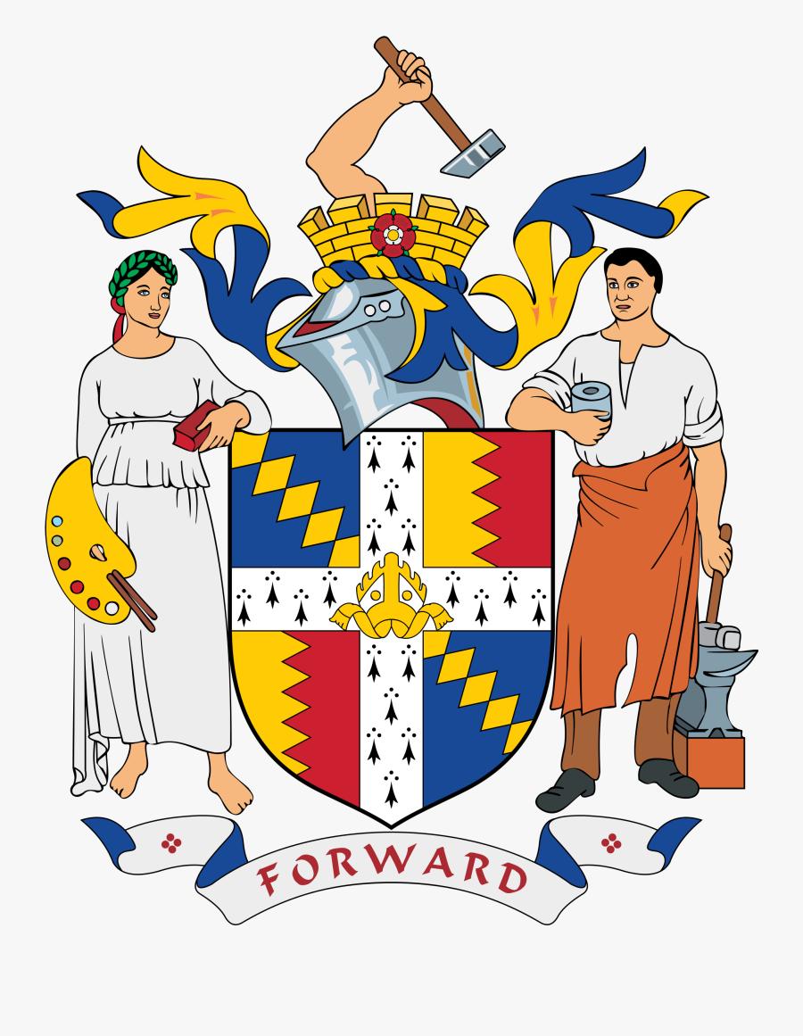 Meeting Clipart City Council - Birmingham Coat Of Arms, Transparent Clipart