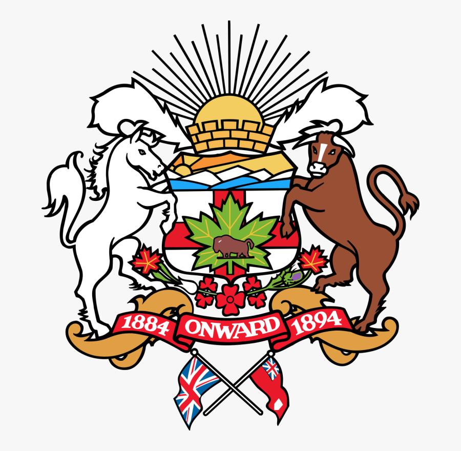 Com Clip Art Town Council - Calgary Coat Of Arms, Transparent Clipart