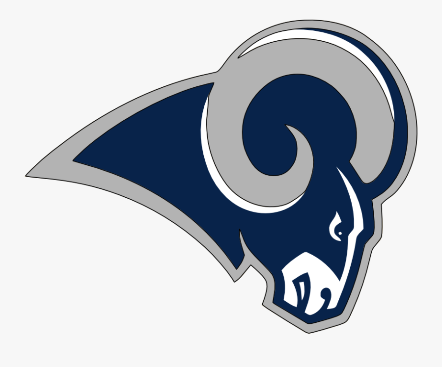 Football Chargers Of St - Los Angeles Rams Logo 2019, Transparent Clipart