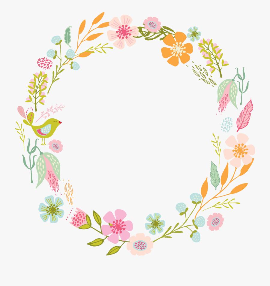 Transparent Succulent Wreath Clipart - Marcos De Flores En Png, Transparent Clipart