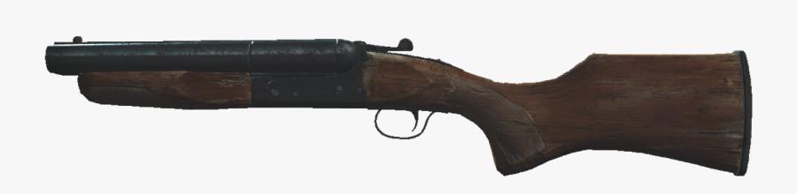 Double Barrel Shotgun Png - Rifle, Transparent Clipart