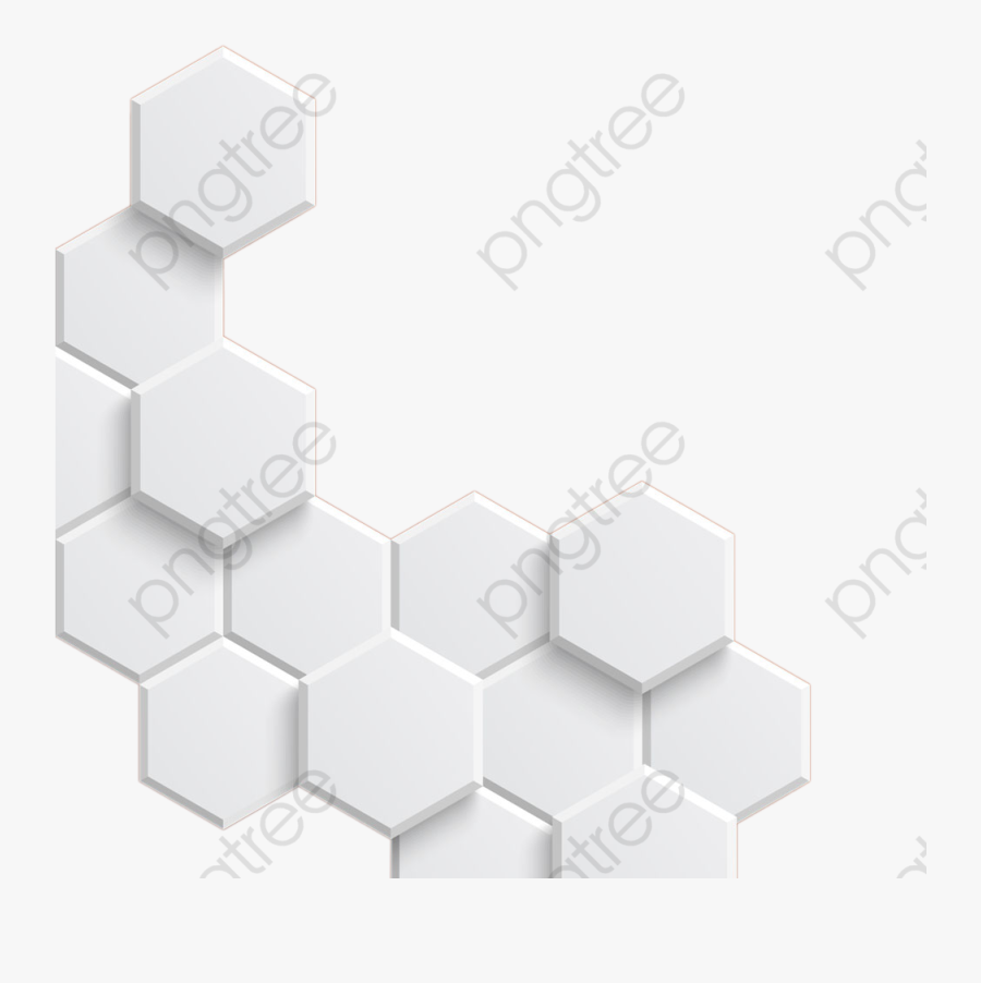 Hexagon Clipart Pattern - Hexagon, Transparent Clipart
