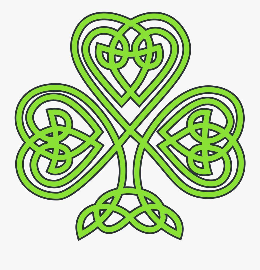 Celtic Shamrock Clipart - Celtic Clip Art, Transparent Clipart
