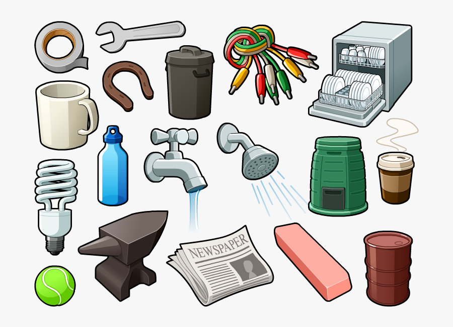 Random Objects, Transparent Clipart