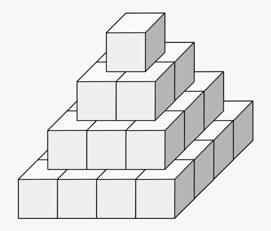 Line Art,square,angle - Cube, Transparent Clipart