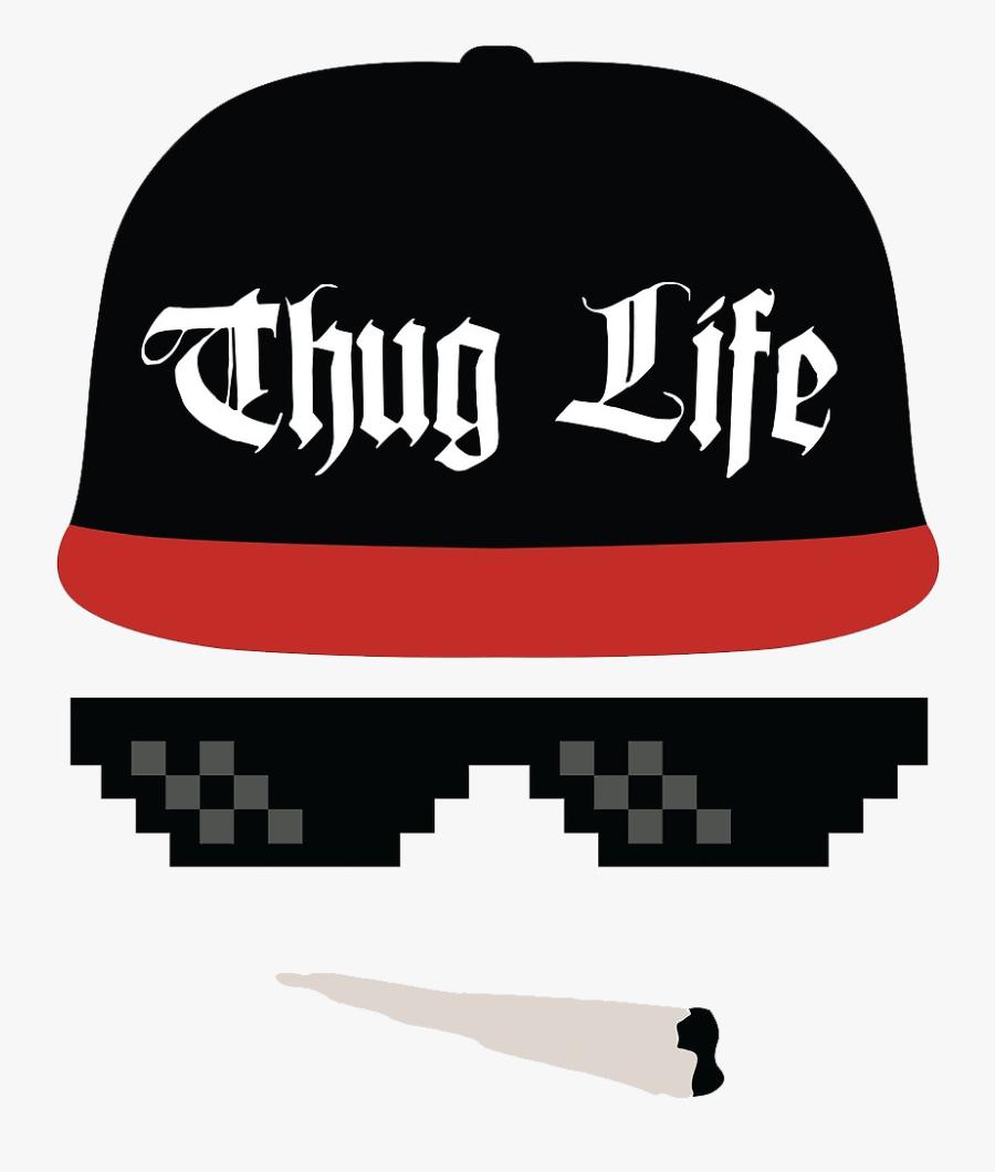 Transparent Images Free Desktop - Thug Life Png Download, Transparent Clipart