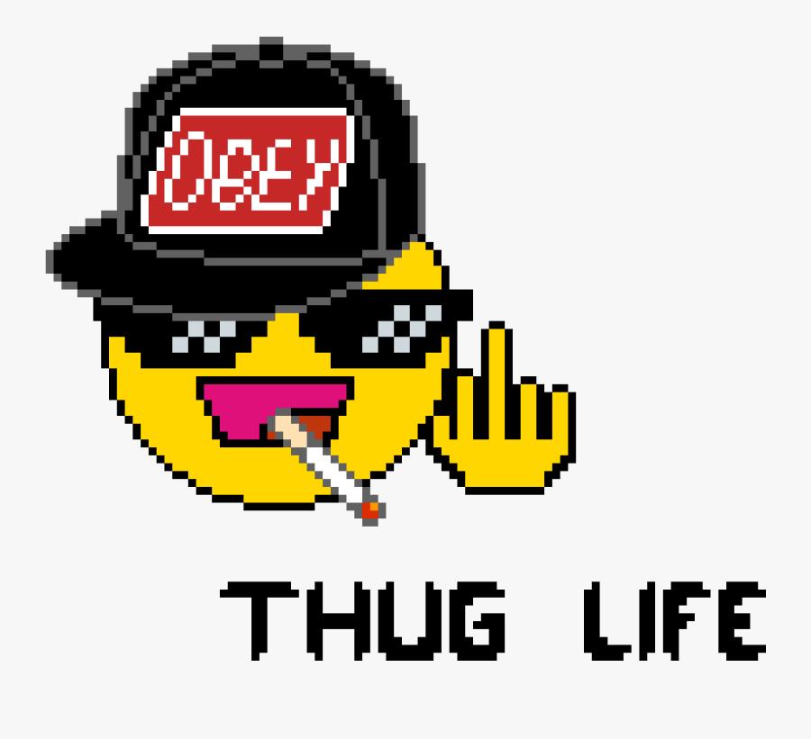 Emoji Png Thug Life, Transparent Clipart
