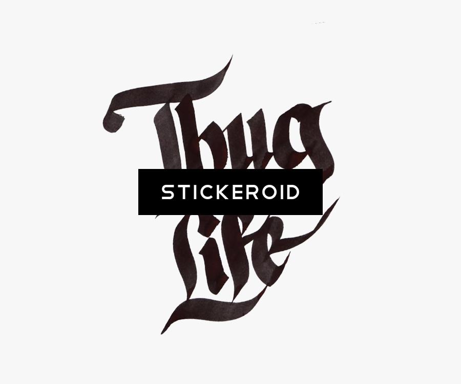 Download Deadfixm Wp - Tattoo Thug Life .png, Transparent Clipart