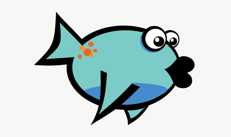 Cartoon Fish Free Png, Transparent Clipart