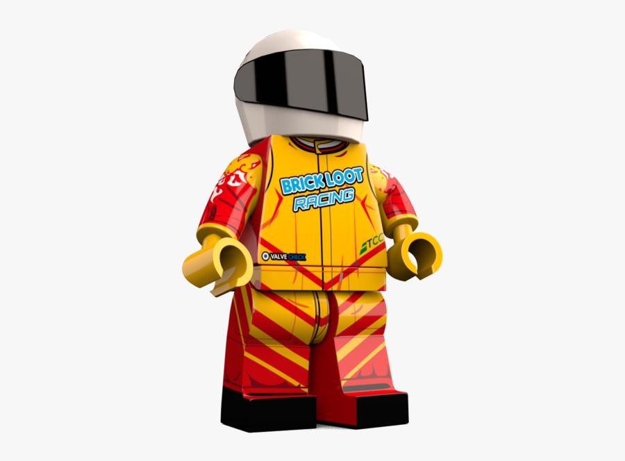 Lego Clipart Lego City - Lego Racer Figure Png, Transparent Clipart
