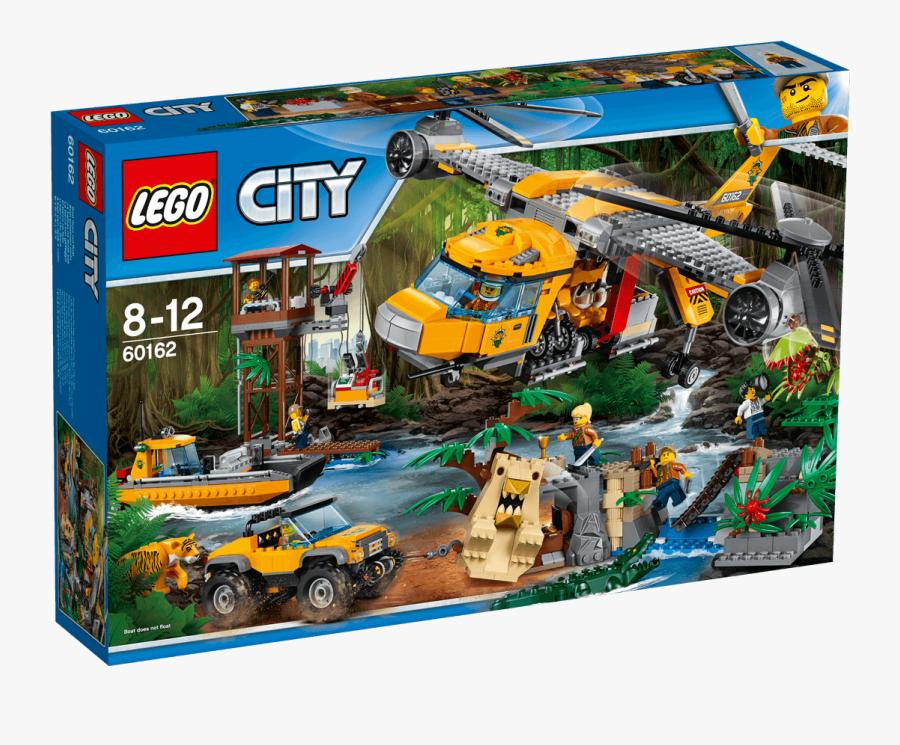 Clip Art Lego City Helicopter - Lego City Jungle Explorers, Transparent Clipart