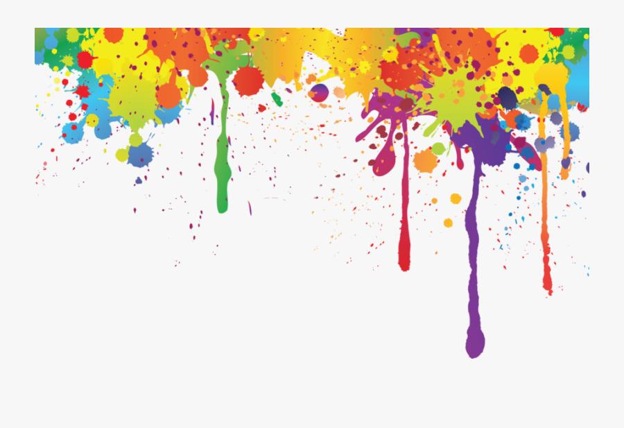 Download Watercolor Color Splash Clipart Watercolor - Transparent Color Splash Png, Transparent Clipart