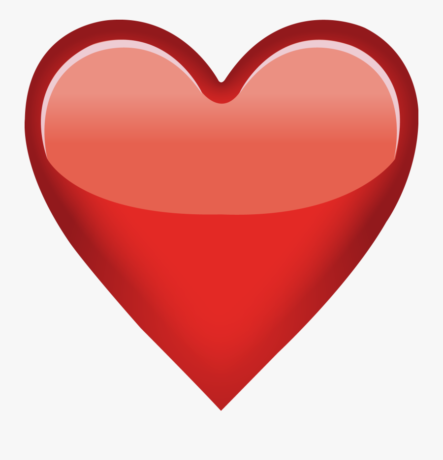 Heart Clipart Jpeg   Red Heart Emoji Png , Free Transparent ...