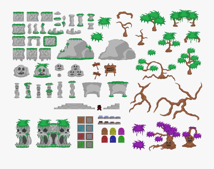 Preview - Platform Game Levels Design, Transparent Clipart