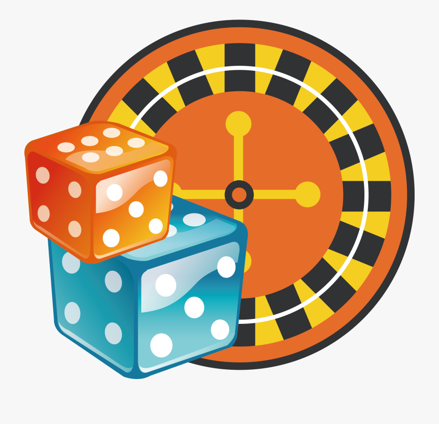 Dice Clipart Gamble - Casino Games Icona Png, Transparent Clipart