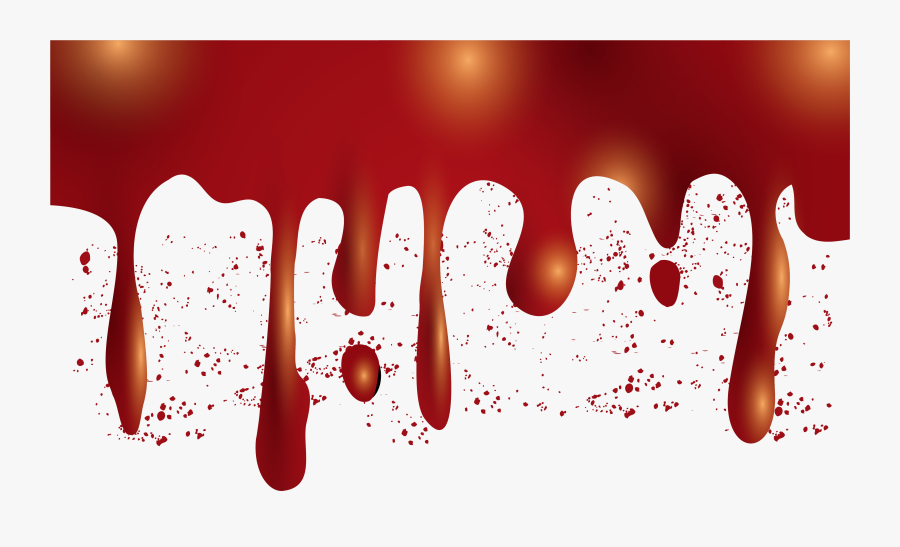 Halloween Bloody Border Png Download - Blood Border Png, Transparent Clipart