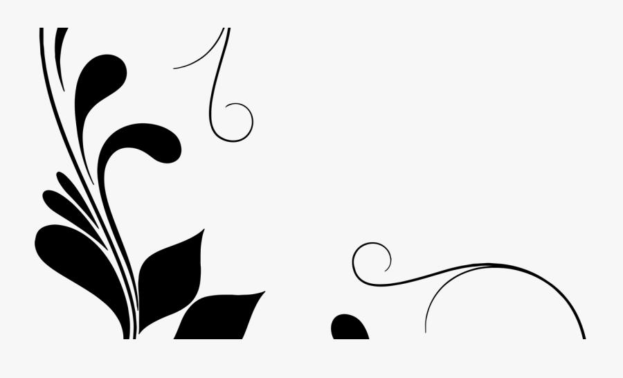 Decorative Corner Art Clipart , Png Download - Decorative Line Corner Png, Transparent Clipart