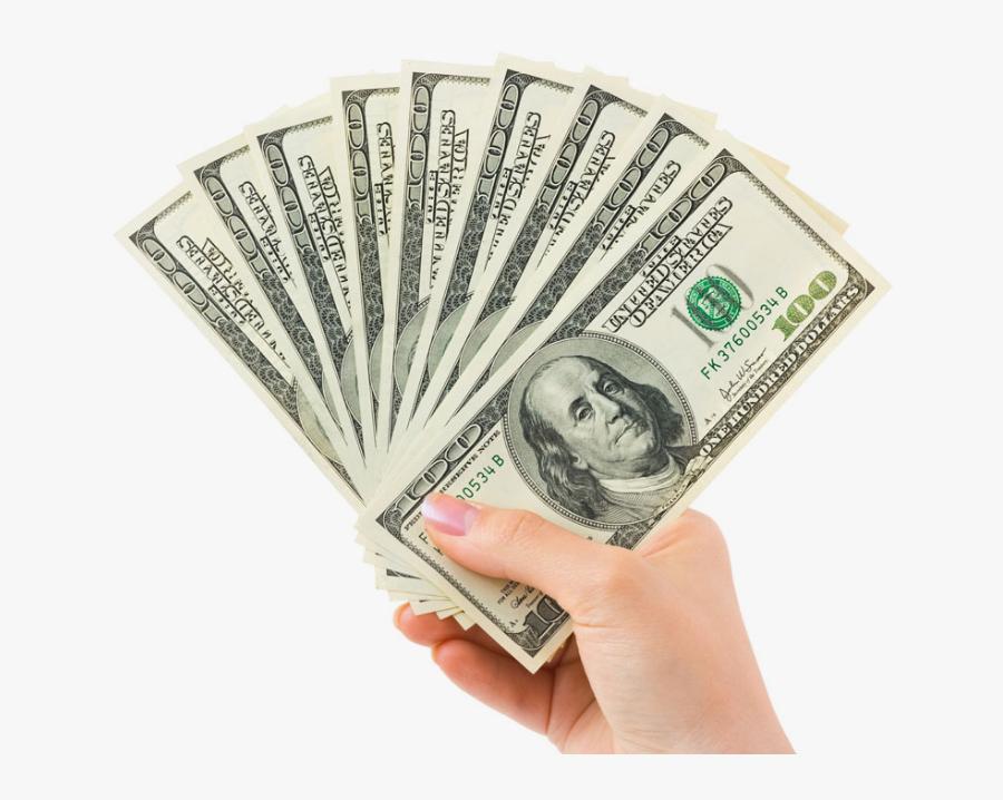 Home Business Entrepreneurship Crazy - Hand Holding Money Png, Transparent Clipart
