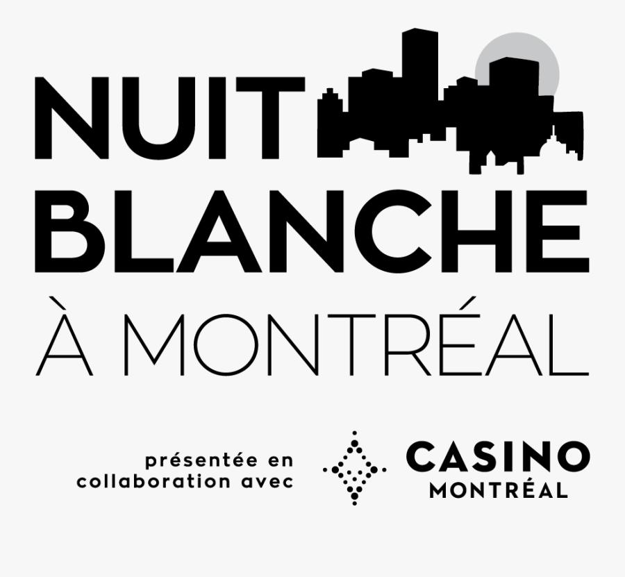 Nuit Blanche 2019 Logo Montreal, Transparent Clipart