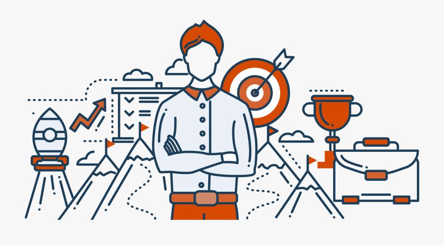 Leveraging An Ecosystem Of Entrepreneurs, It Professionals, - Leadership Design Elements, Transparent Clipart