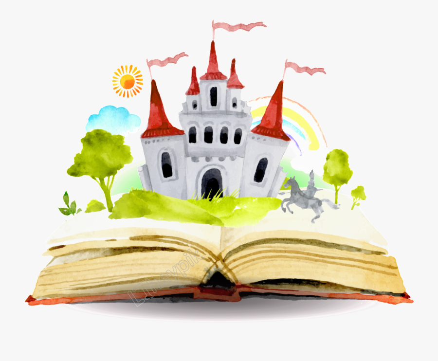 Fairy Tale Clipart Small Castle - Fairy Tale Book Png , Free Transparent  Clipart - ClipartKey