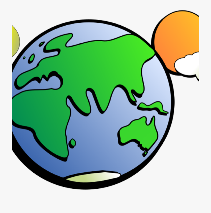 Animated Globe Clipart Free Earth And Globe Clipart - Earth Sun And Moon Clipart, Transparent Clipart