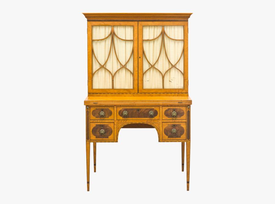 Writing Desk Desk Furniture - Writing Desk, Transparent Clipart