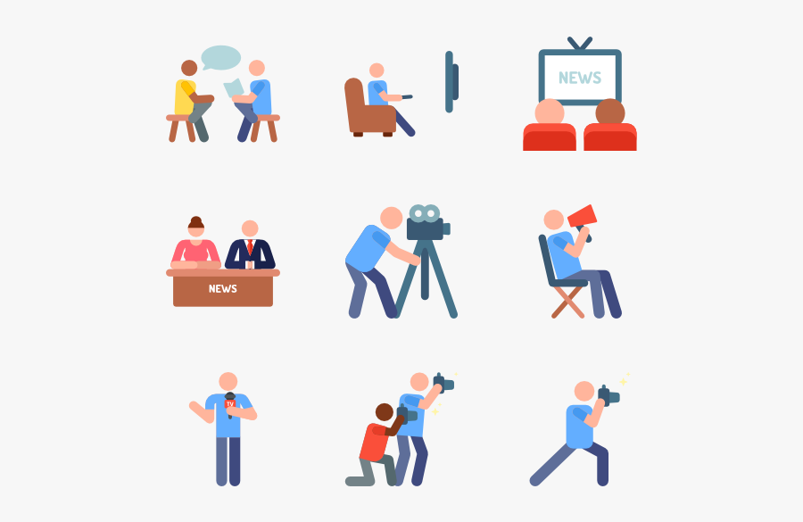 28 Broadcast Icon Packs - Broadcast Tv Icon Png, Transparent Clipart
