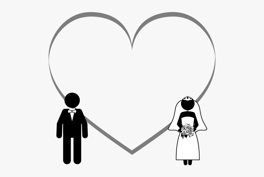 Marriage Heart, Transparent Clipart