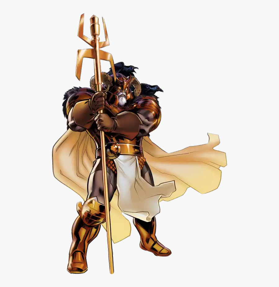 Jiren Vs Odin - Marvel Avengers Alliance Odin, Transparent Clipart