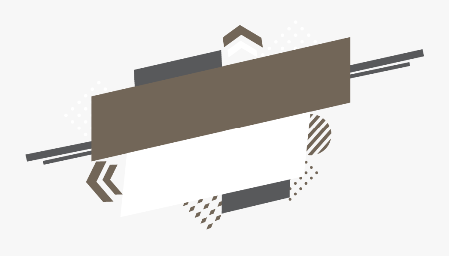 Abstract Brown Banner - New Banner Design Png, Transparent Clipart