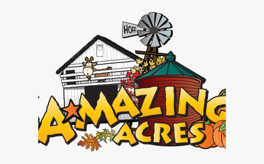 Amazing Acres Corn Maze And Pumpkin Patch Clipart , - Illustration, Transparent Clipart