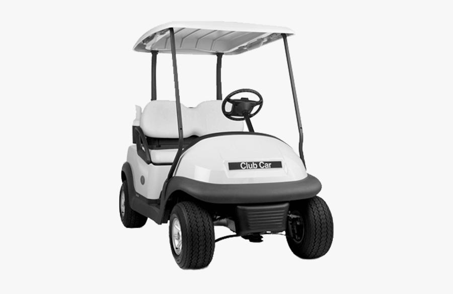 Club Car Electric Vehicle Golf Buggies - Golf Cart Transparent Background, Transparent Clipart