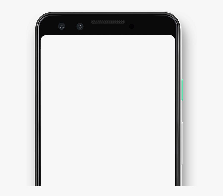 Transparent Cell Phone Icon Png - Android Phone No Background, Transparent Clipart