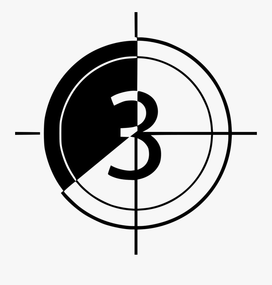 Countdown - Blank Clock Face, Transparent Clipart