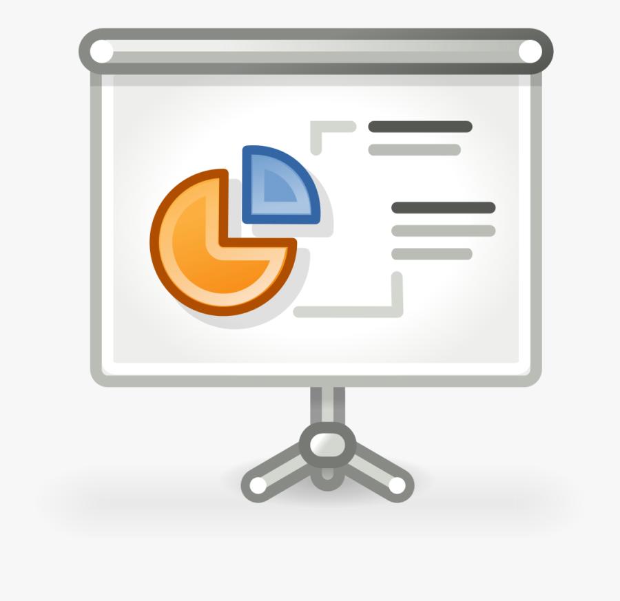 Outline Of Presentation Clipart , Png Download - Oral Presentation Presentation Icon, Transparent Clipart