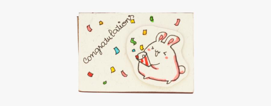 Congratulations You Made It Matchbox Card - Drawing, Transparent Clipart