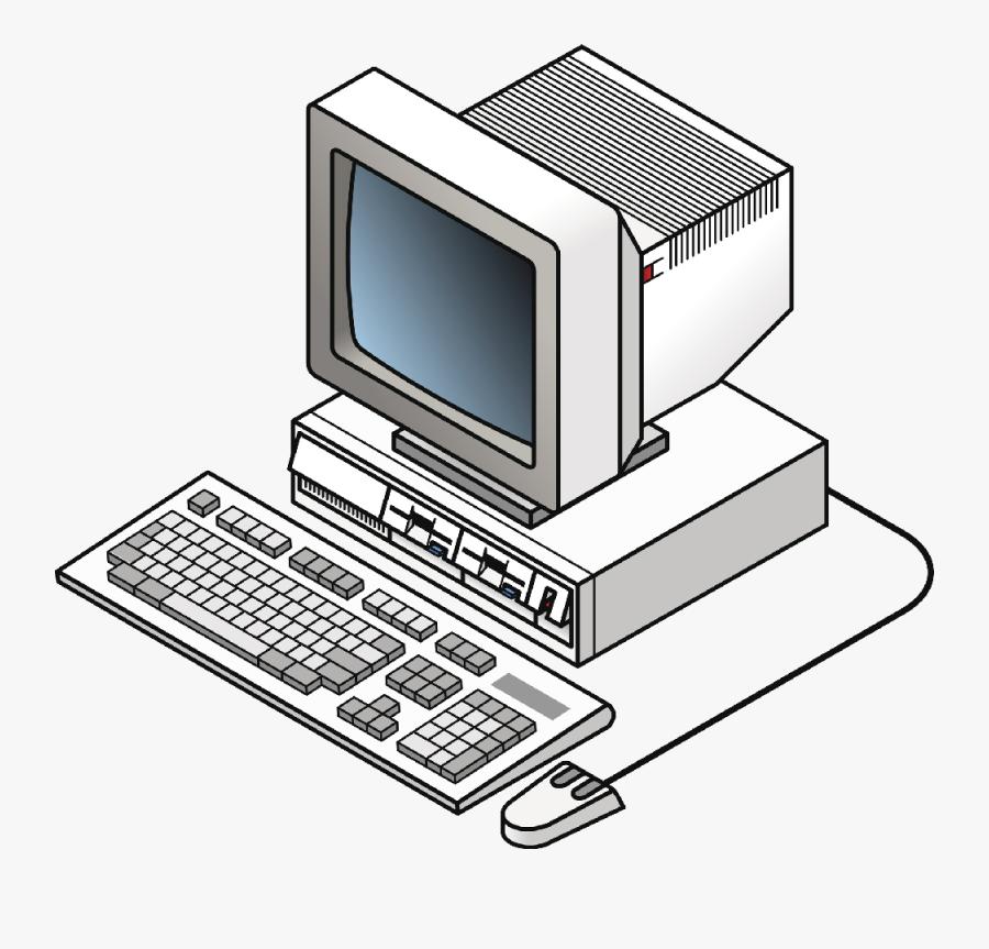 Transparent Computers Cliparts - Desktop Computer, Transparent Clipart