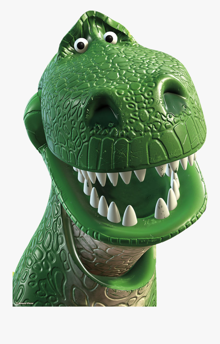 Toy Story Clipart T Rex - Rex From Toy Story Head, Transparent Clipart