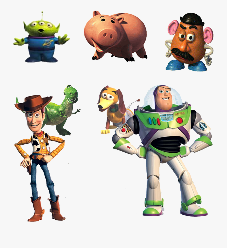 Toy Story Characters Png - Toy Story 4 Characters Png, Transparent Clipart