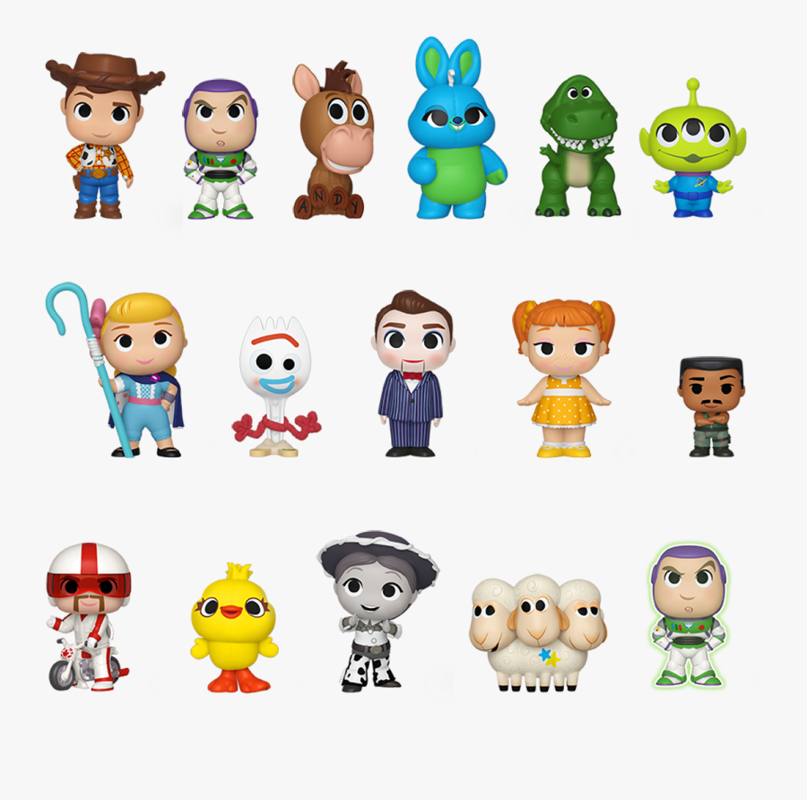 Transparent Toy Story Png - Funko Mystery Minis Toy Story 4, Transparent Clipart