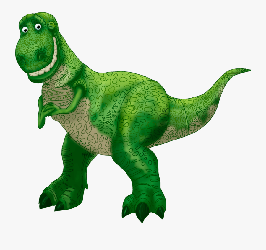 Toy Story 1 Characters Rex Pixshark Images Clipart - Toy Story Characters Png, Transparent Clipart