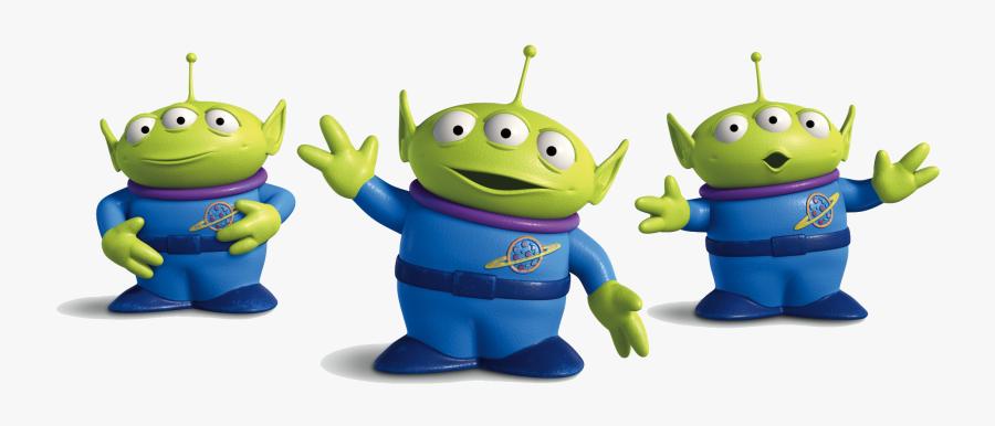 Alien Clip Art Toy Story - Clipart Toy Story Alien, Transparent Clipart