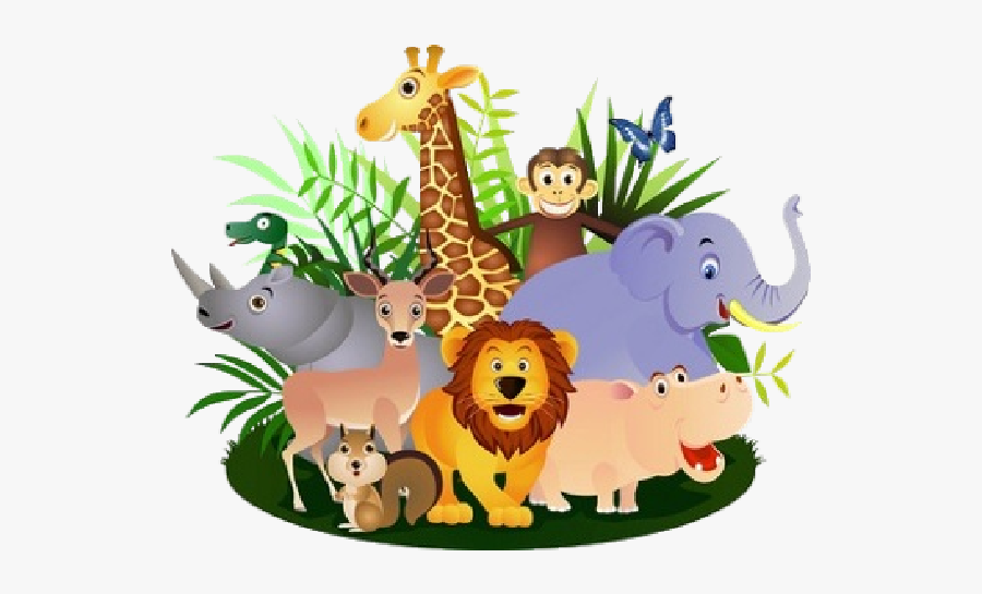 28 Collection Of Wild Animals Clipart Png - Group Of Animals Transparent ,  Free Transparent Clipart - ClipartKey