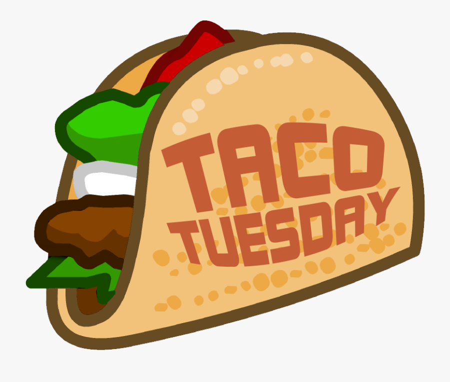 Los Tacos Animados Clipart , Png Download - Taco Tuesday Clipart Png, Transparent Clipart