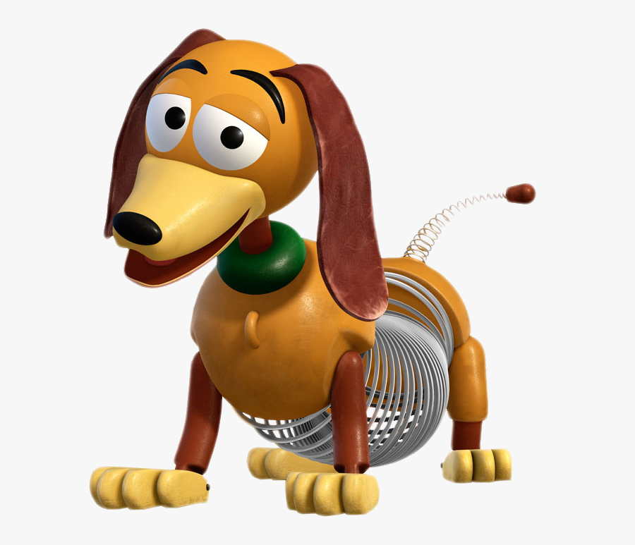 Story Clipart Slinky Dog - Slinky Dog Toy Story Characters, Transparent Clipart