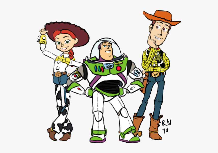 Toy Story Clipart Woody Drawing - Woody Toy Story Drawing Easy, Transparent Clipart