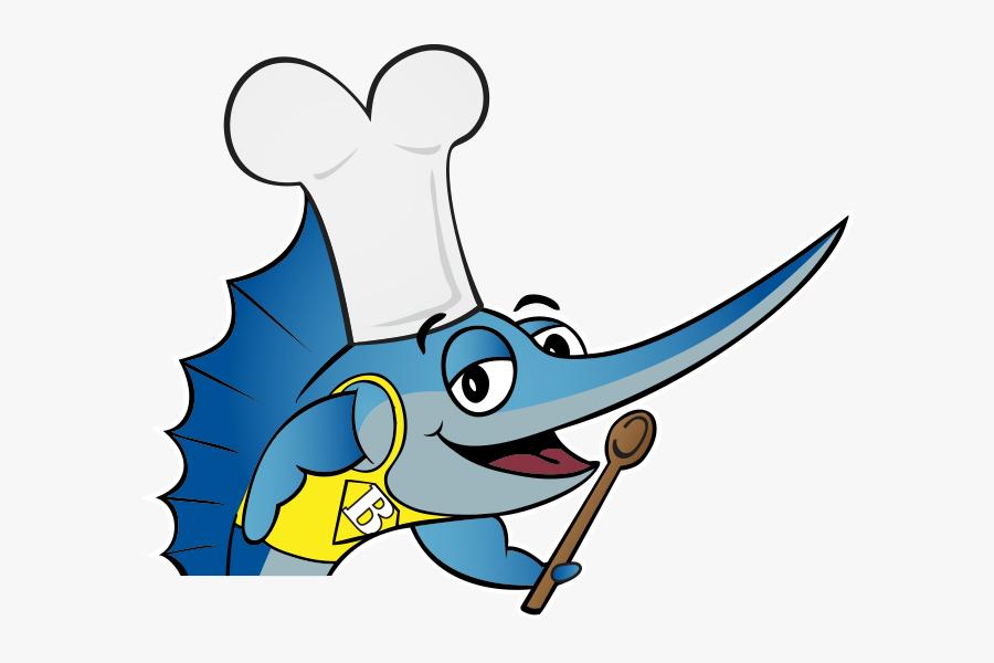 Fish Tacos Clipart - Cartoon Fish Logo Png, Transparent Clipart