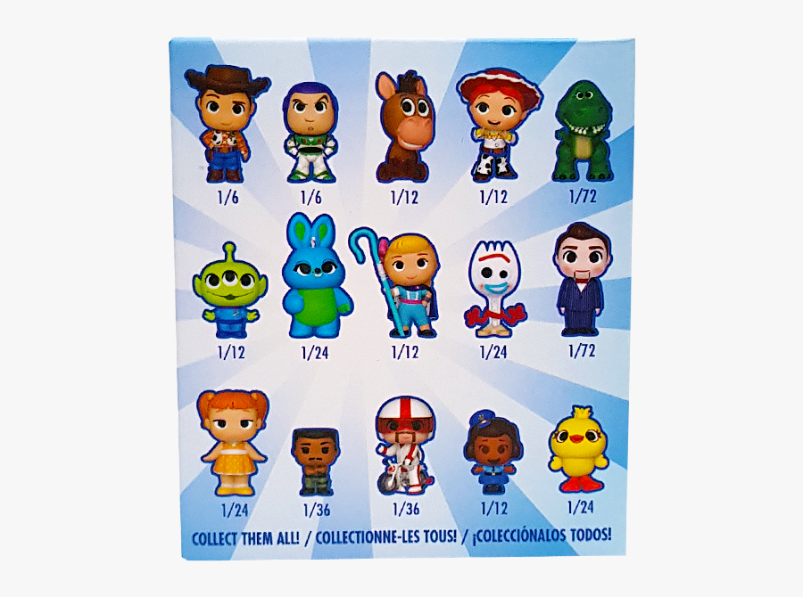 Funko Mystery Minis Toy Story 4, Transparent Clipart
