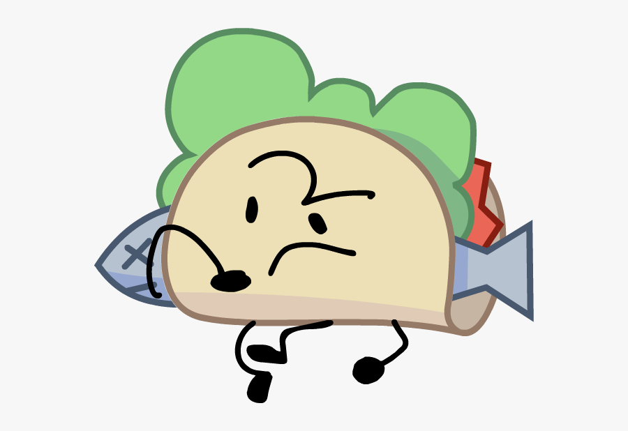 Image Body Front Copy - Taco Bfb, Transparent Clipart